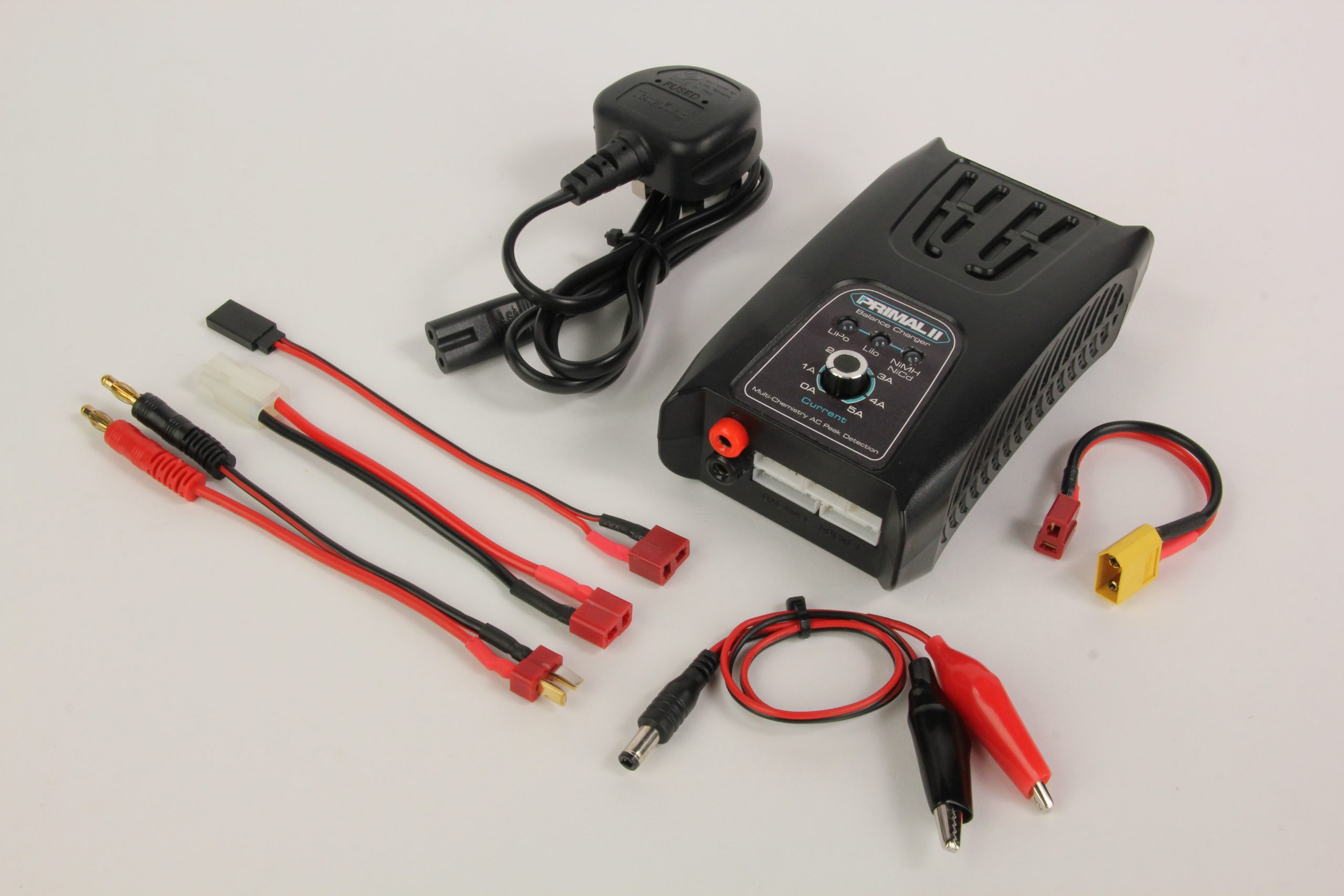 MISTRAL LED LIPO NIMH 5A CHARGER ADJUSTABLE (EU) RC deler