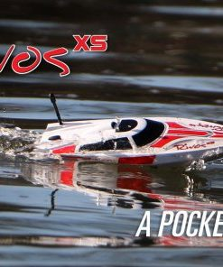 RIVOS XS RTF BOAT RED / BLUE