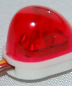 DYNAMIC SAND FINS ANTENNA LAMP RED